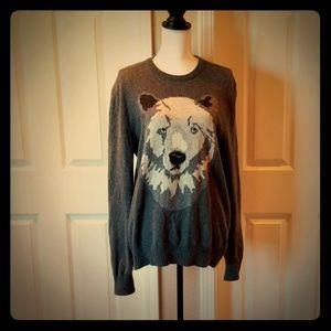 Gap bear sweater
